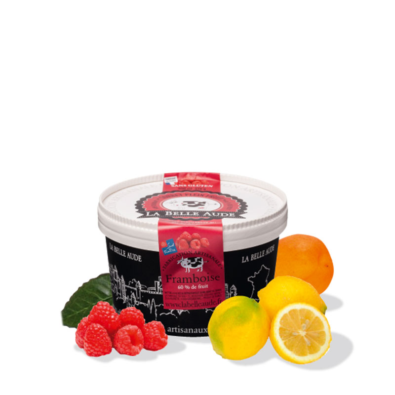 Nos Sorbets plein fruit