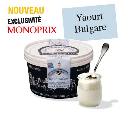 glace yaourt La belle Aude