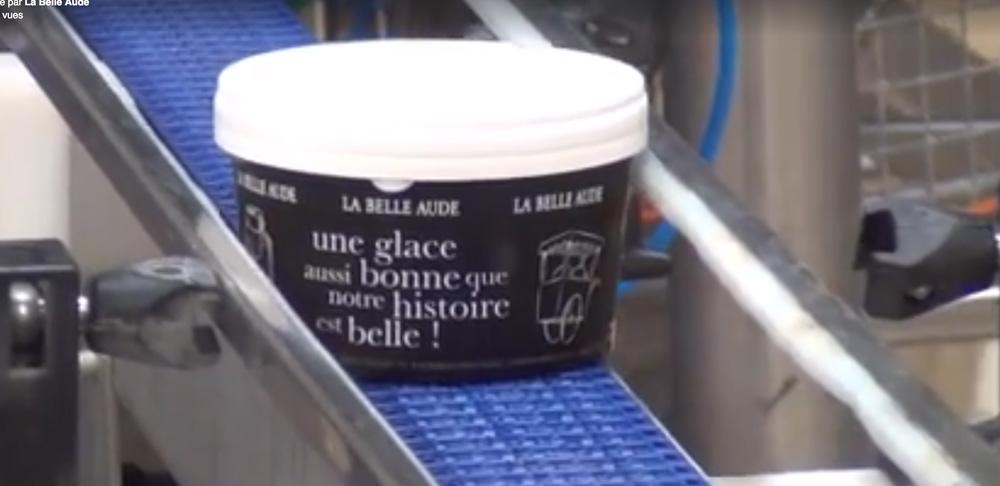 Découvrez la production de Glaces La Belle Aude