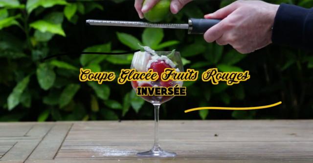 Recette coupe glacée Fruits Rouges