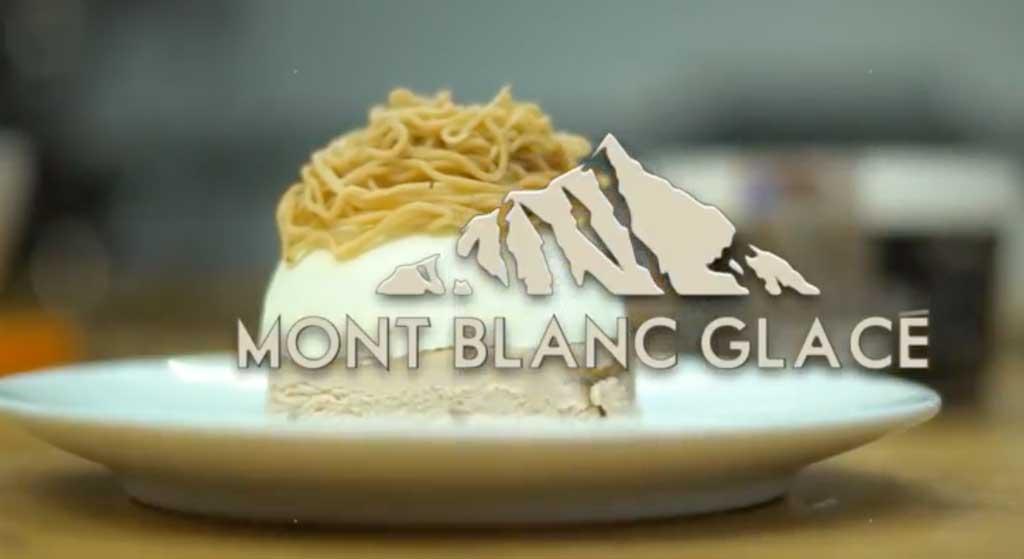 Le Mont Blanc Glacé – La Belle Aude
