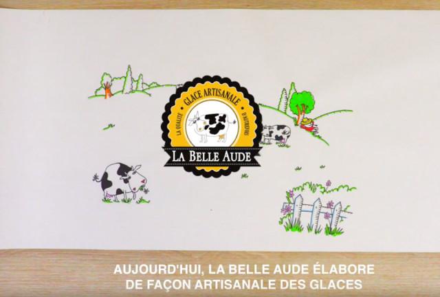 Il était une fois l'histoire des Glaces La Belle Aude…