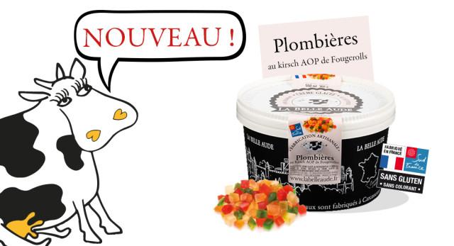Crème Glacée Plombières Grand classique de l'art glacier français