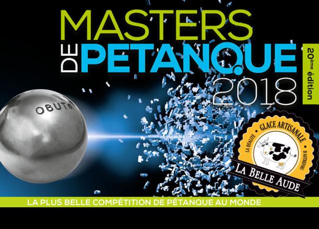 Masters de pétanque 2018 à Limoux les 22 et 23 août.
