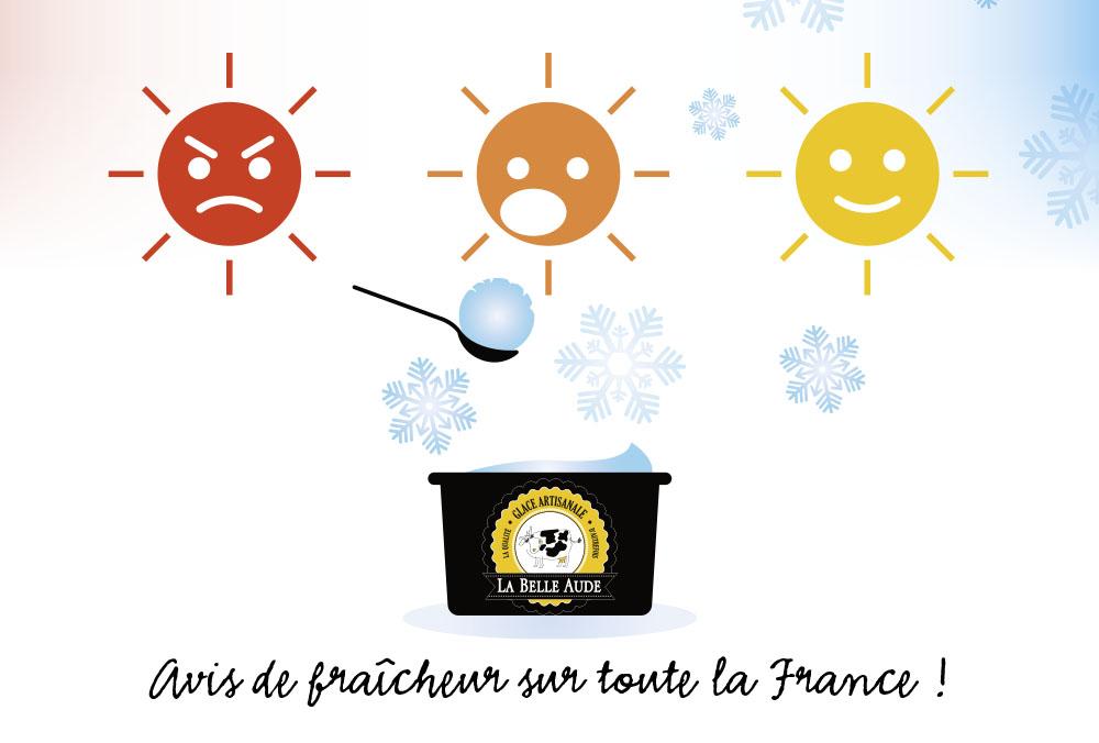 Avec La Belle Aude, avis de fraîcheur sur toute la France !