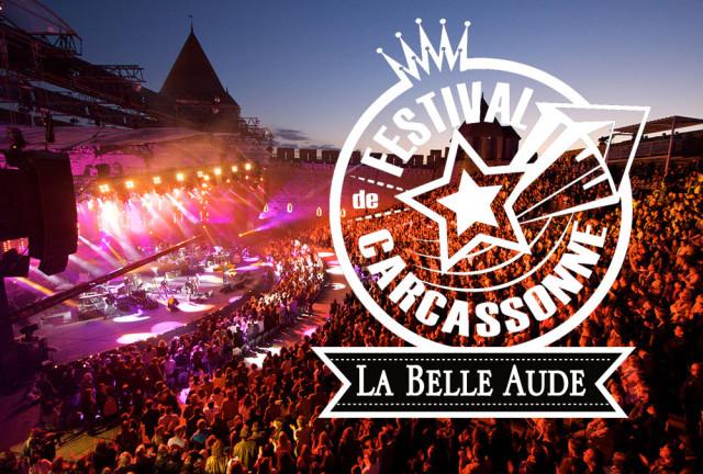 La Belle Aude, glace officielle du Festival de Carcassonne !