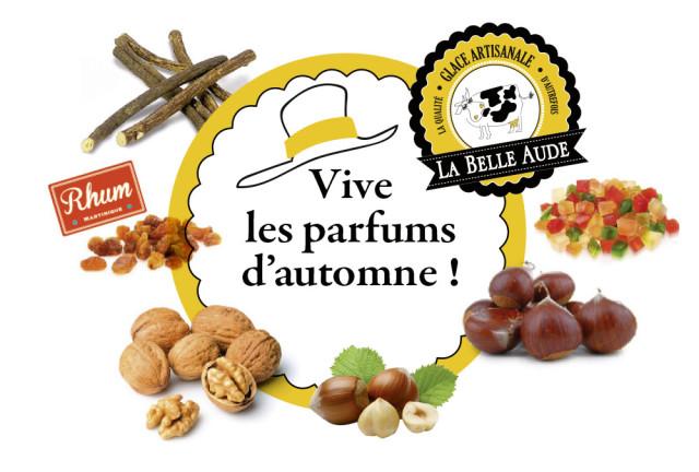 Vive les parfums d'automne !