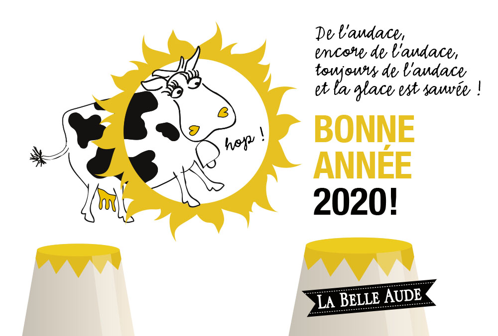 Tout l'équipe de La Belle Aude vous souhaite une bonne année 2020 !