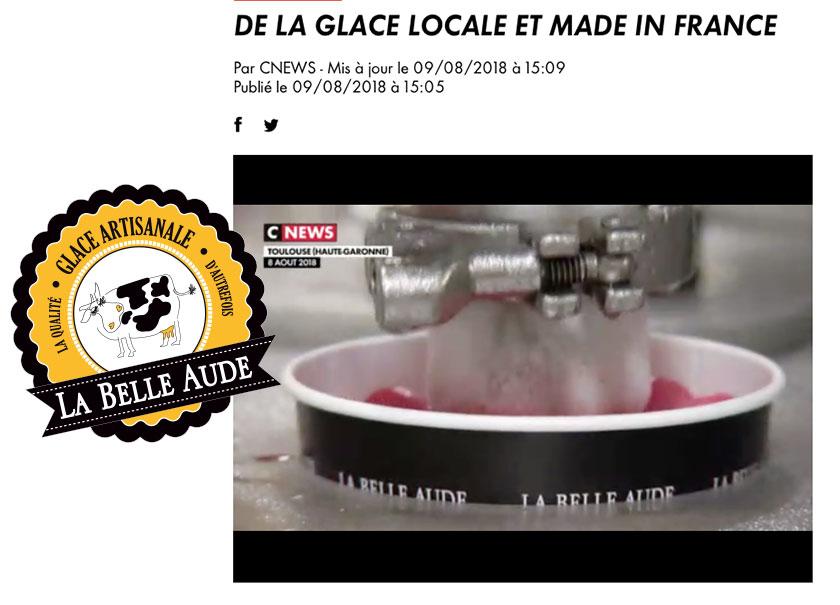 Reportage de CNEWS sur La Belle Aude