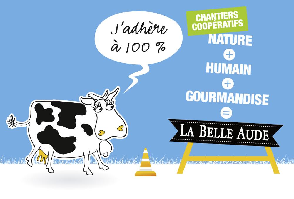 Les chantiers coopératifs de La Belle Aude