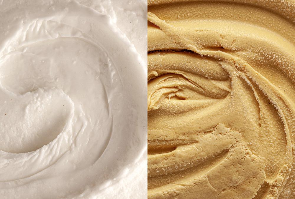 La glace et moi : coco-caramel !